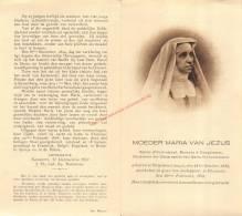 Barones D'Hooghvorst (1818 - 1878) Bidprentje - Images Religieuses