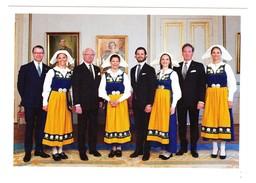 Royal Family Of Sweden  Victoria Silvia Estelle  Carl Philipp Sofia  ( Groen 70 - Familles Royales