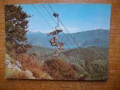Suisse , Miglieglia , Seggiovia Monte Lema - TI Tessin