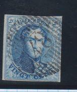 Belgique N°11A 20C D48 SAINT-LEGER COBA+20 Pour Marges Voir Scan - 1858-1862 Medaglioni (9/12)
