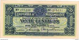 Mozambique , Moçambique , 1933 , Vinte Centavos , UNC - Mozambique
