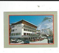 73 Carton Publicitaire Petit Format Hotel Arbina Tignes Extrassiaz 2 Scan - France
