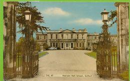 SOLIHULL - Malvern Hall School Riley One Point Five Auto Carte Circulé 1973 - Angleterre