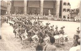 FIRENZE (FLORENCE) - Piazza Della Signoria - Loggia Dell'Orcagna - Celebrazioni Per La Festa Di Sant'Anna - CARTE-PHOTO - Firenze
