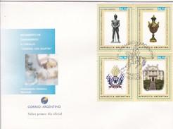 "REGIMIENTO DE GRANADEROS A CABALLO ""GRAL SAN MARTIN"" 1998 - MATASELLO BUENOS AIRES - ARGENTINA/L'ARGENTINE -FDC - BLEUP - FDC"