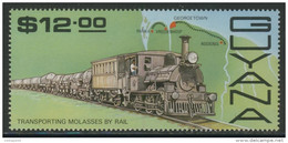 Guyana 1987 Mi 1926 YT 1638 ** Molasses Train And Parika-Rosignol Railway Route Map / Güterzug, Landkarte - Treinen