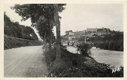 - Dpts Div-UU461- Ariege - Saint Lizier -- St Lizier - Environs De Saint Girons -  Vue Generale - Carte Bon Etat - - Sonstige Gemeinden