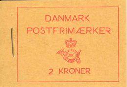 DENMARK, 1957, Facit Booklet H30, Mi 328x, 361 - Boekjes