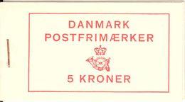 DENMARK, 1963, Facit Booklet H39, Mi 198II, 328y, 361 - Boekjes