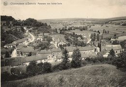 Chassepierre - Panorama Vers Sainte-Cécile - Circulé 1951 - Edit. Vve Renaud, Chassepierres - Chassepierre
