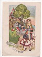 """KÜNSTLER AK  LIESEL LAUTERBORN  -  """" TRACHTEN -HESSEN """"  ~ 1940     PMB 75 / 15 - Otros Ilustradores"""