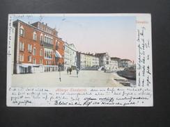 AK 1902 Venezia Albergo Sandwith. Purge & Co. München. Nach Wien. Stempel 5 / 1 Wien 54 Bestellt - Venezia (Venice)