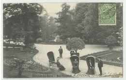 Mondorf Les Bains Bad Mondorf Feine Gäste Im Park 1909 - Bad Mondorf