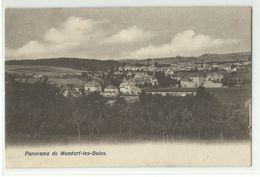 Mondorf Les Bains Bad Mondorf Panorama 1909 - Mondorf-les-Bains