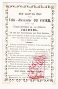 DP Felix A. Du Vivier Duvivier / Perneel ° Ardooie 1805 † 1880 - Devotion Images