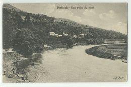 Diekirch Vue Prise Du Pont 1935 - Diekirch