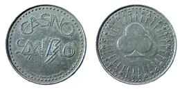 00874 GETTONE TOKEN JETON FICHA CASINO SAN REMO 1986 - Casino