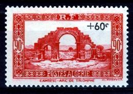 French Algeria, Overprint +60c. / 90c., 1941, MNH VF - Algerien (1924-1962)
