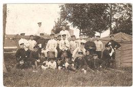 Lager Lechfeld / Graben - Originalfoto - Soldaten - 1910 - Caserme