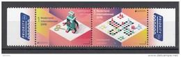 Nederland 2015 Nvph Nr 3285 + 3286 Mi Nr 3354 + 3355 Speelgoed, Toy , Robot + Mens Erger Je Niet Post Europa 2015 - Periode 2013-... (Willem-Alexander)