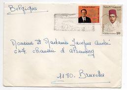 Maroc--lettre De TANGER  Pour BRUXELLES (Belgique)--timbres-cachet - Maroc (1956-...)