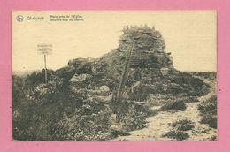 C.P. Geluwe = Oorlog 1914 - 1918  :  Shelters Near  The  Church - Wervik