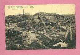 C.P. Geluwe = Ruïnes Oorlog 1914 - 1918  :  Shelter - Wervik