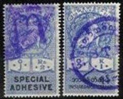 BURMA, Revenues, Used, F/VF - Burma (...-1947)