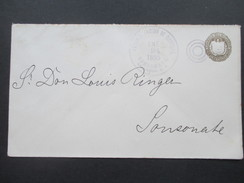 El Salvador Ganzsache 1895 Administracion De Correos Sonson ATE Salvador - El Salvador