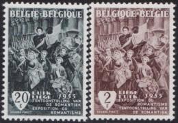 Belgie    .    OBP   .   971/972        .     **     .    Postfris ZONDER  Charnier    .  / .  Neuf SANS  Charniere - Belgio