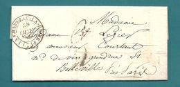 Seine Et Marne - La Chapelle La Reine Pour BELLEVILLE. LAC De 1840 écrite à LARCHANT - 1801-1848: Precursors XIX