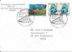 Poland Cover Sent To Denmark 13-9-1999 - 1944-.... Republic