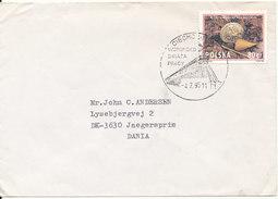Poland Cover Sent To Denmark 4-7-1995 - 1944-.... Republic