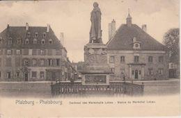 57 - PHALSBOURG - NELS SERIE 156 N° 8 - STATUE DU MARECHAL LOBAU - Phalsbourg