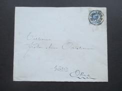 Schweden 1882 Einzelfrankatur Nach Okna ?! - Schweden
