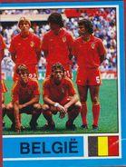 Panini Football Voetbal 87 1987 Belgie Ploegfoto Sticker Nr. 2 (scheurtje) Rode Duivels - Sports
