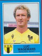 Panini Football Voetbal 87 1987 KBS Koninklijke Berchem Sport Sticker Nr. 63 Luc Wagemans - Sports