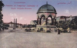 CPA : Constantinople (Turquie) Fontaine  De L'empereur,                    Ed       MJC - Turkey