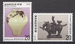 Corée Du Sud 1979 Mi. Nr: 1173-1174 Koreanische Kunst   Neuf Sans Charniere / MNH / Postfris - Corée Du Sud