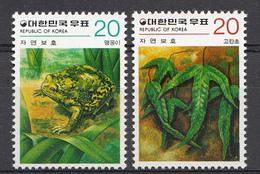 Corée Du Sud 1979 Mi. Nr: 1178-1179 Naturschutz   Neuf Sans Charniere / MNH / Postfris - Corée Du Sud