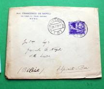 ITALIA 1937,  COLONIE ESTIVE CENT 50 SU BUSTA   VIAGGIATA - 1900-44 Vittorio Emanuele III