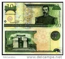 DOMINICAN REPUBLIC - 10 PESOS 2001 UNC - Dominicaanse Republiek