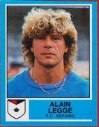 Panini Football Voetbal 87 1987 Belgie Belgique Sticker FC Seraing Liege Luik Nr. 275 Alain Legge - Sports