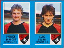 Panini Football Voetbal 87 1987 Belgie Belgique Sticker FC Beringen Nr. 368 Patrick Schoofs Ludo Geurts - Sports