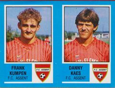 Panini Football Voetbal 87 1987 Belgie Belgique Sticker FC Assent Nr. 360 Frank Kumpen Danny Kaes - Sports