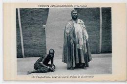 CPA Burkina Faso Haute Volta Ouagadougou Non Circulé Chef Mossis - Burkina Faso