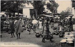 CPA TOGO Afrique Noire Type Ethnic écrite Marché Palimé - Togo