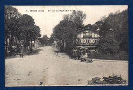 60. Senlis. Avenue Du Maréchal Foch. Restaurant Du Chalet. Belles Voitures Anciennes. 1925 - Senlis