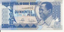 GUINEE-BISSAU 500 PESOS 1990 UNC P 12 - Guinea-Bissau