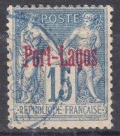 Port-Lagos 1893 Yvert#3 Used - Port Lagos (1893-1931)